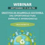 ODS: Una oportunidad para empresas e inversionistas