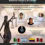 FORO DEBATE: DERECHO AMBIENTAL AMÉRICA LATINA Y EL CARIBE