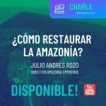 ¿CÓMO RESTAURAR LA AMAZONÍA?